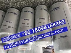 原装正品英国帕金斯发动机配件柴油/机油滤芯4650996 4587260 斗山800X