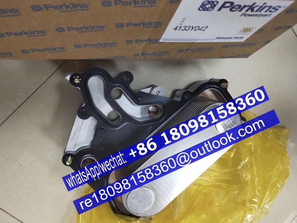 原裝正品Perkins珀金斯帕金斯1100機油冷卻器2486A002 4133Y042 4134W025卡特 1