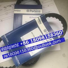 541/398 原裝正品perkins珀金斯發動機風扇皮帶充電機皮帶T80109105