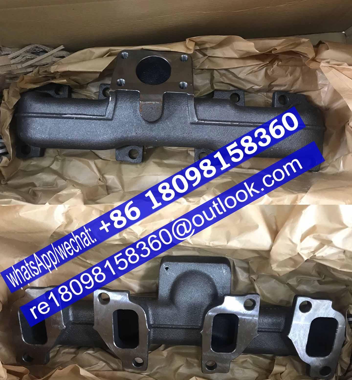 原厂卡特320D/323D发动机排气支管T412663 3778E401 3778E451 珀金斯Perkins配件 1