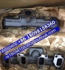 原厂卡特320D/323D发动机排气支管T412663 3778E401 3778E451 珀金斯Perkins配件