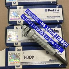 T400504 Perkins Glow Plug for 403/404 series , Genuine Perkins Engine Parts