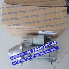 T400267 genuine Perkins start motor for 1103c-33 1103A-33T engine parts