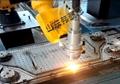 碳鋼法蘭弧焊機器人