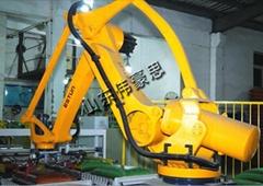 干粉砂漿包裝機器人碼垛機廠家偉豪思