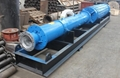 QK型大流量礦用農田臥式潛水泵