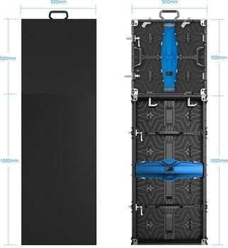 Fullcolor Stage Rental 500*500mm P4.8~6.2 LED Display Panels for Advertising 3