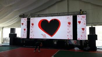 Rental Advertising P3.9~6.2 500*500mm Outdoor LED Display Screens  5