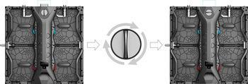 Rental Advertising P3.9~6.2 500*500mm Outdoor LED Display Screens  3