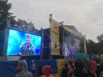 Super Thin and Light Rental Stage Waterproof Outdoor P3.9~6.2 LED Display Wall 5