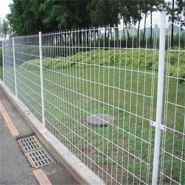高速公路護欄網 綠色雙邊絲鐵絲網 圈地圍欄 3