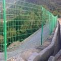 高速公路護欄網 綠色雙邊絲鐵絲網 圈地圍欄 4