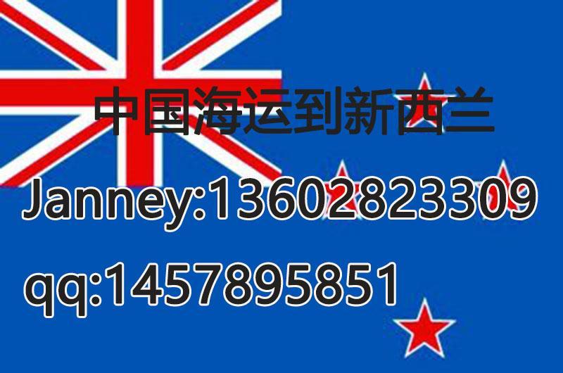 中國海運到新西蘭雙清到門 2