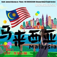 化妆品洗发水海运至马来西亚双清关包税