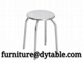 Stainless steel soft backrest soft seat