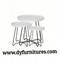Modern living room furniture metal coffee table 1