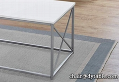 Coffee table for living room, power coating coffee table,