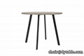 NEW DESIGN POWDER COATING DINING TABLE FOR DINING ROOM 2