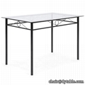 GLASS TOP DINING ROOM SET DINING SET FOR DINING ROOM