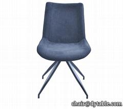 Kitchen furniture Restaurant Blue Velvet Room Fabric Designer Chair