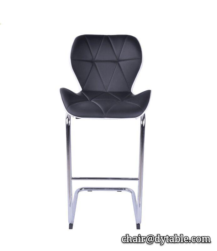 modern unique design american leather high bar chair