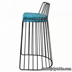 Bar Furniture Velvet Seating Bar Stools/Bar Chair For Club
