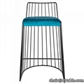 Bar Furniture Velvet Seating Bar Stools/Bar Chair For Club