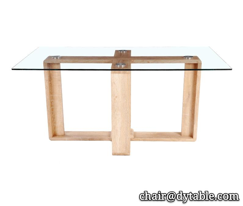 modern furniture home dinning table set glass table wooden table