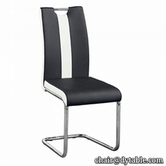 hot sale leather dining chair good quality metal dining chairs