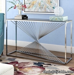 3 or 6 pieces coffee table sets stainless steel coffee tables