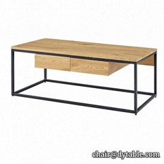 console table living room furniture stainless steel coffee table