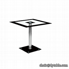 Small glass top coffee table small round rectangular stainless steel table