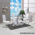 new modern design stainless steel dining