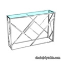 modern luxury console table stainless steel table