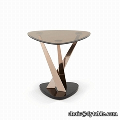 console table furniture stainless steel table