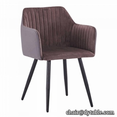 New modern household furniture sitting room furniture stainless steel chair