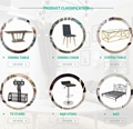 Dining Room Furniture stainless steel chair
