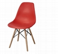Wholesale high quality home furniture colorful modern pp plastic dining chair