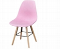 Cheap wholesale pink plastic chair pp