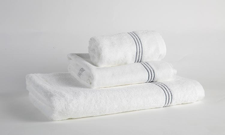 Eliya ISO9001 woven embroidered towels bath set luxury hotel 100% cotton 1