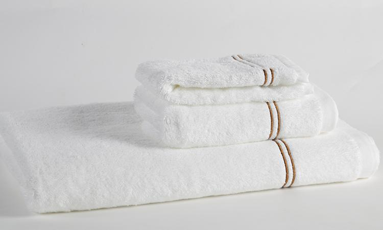 Eliya ISO9001 woven embroidered towels bath set luxury hotel 100% cotton 2