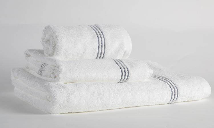 Eliya ISO9001 woven embroidered towels bath set luxury hotel 100% cotton 3