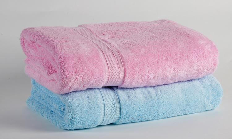 Eliya Hotel white color bath towel for bathroom, comfortable hotel towel 3