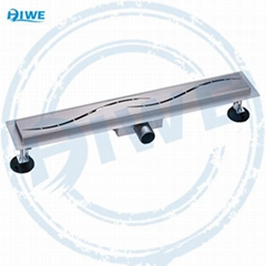 stainless steel linear shower drain HW107