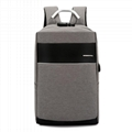 Travel Laptop Backpack with USB Charging Port +Anti-Theft Lock [Water Resistant] 1