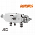 特威DeVilbissAGXV自動噴槍高霧化噴槍木工傢具噴槍 1