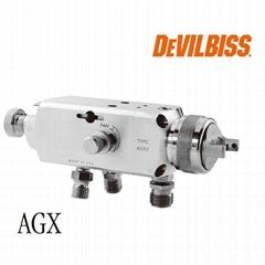 特威DeVilbissAGXV自動噴槍高霧化噴槍木工傢具噴槍