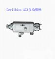 特威DeVilbissAGX自動噴槍高霧化噴槍木工傢具噴槍 1