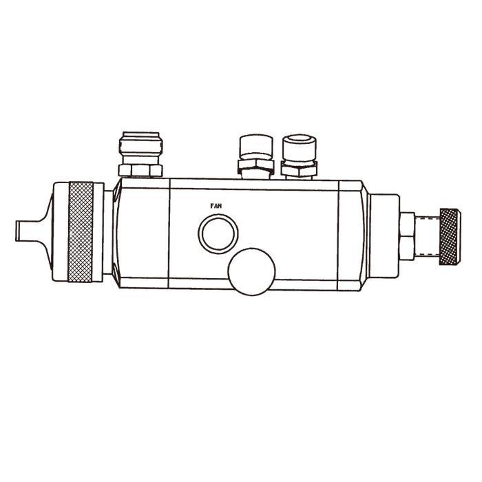 特威DeVilbissAGX自動噴槍高霧化噴槍木工傢具噴槍 2
