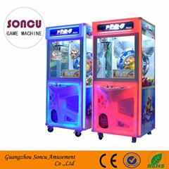 Chinese fatory toy crane claw vending game machine